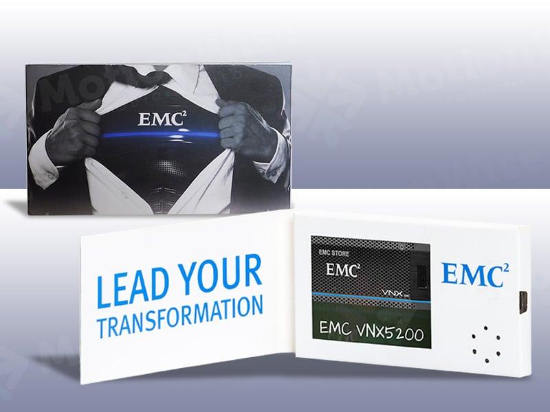 Video Business Card EMC2
