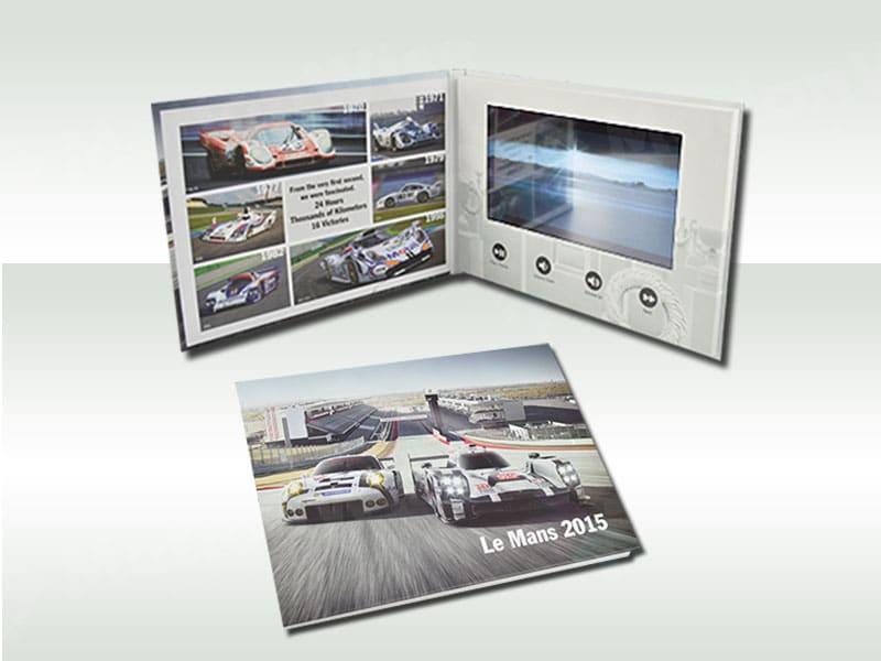 Video brochure Porsche