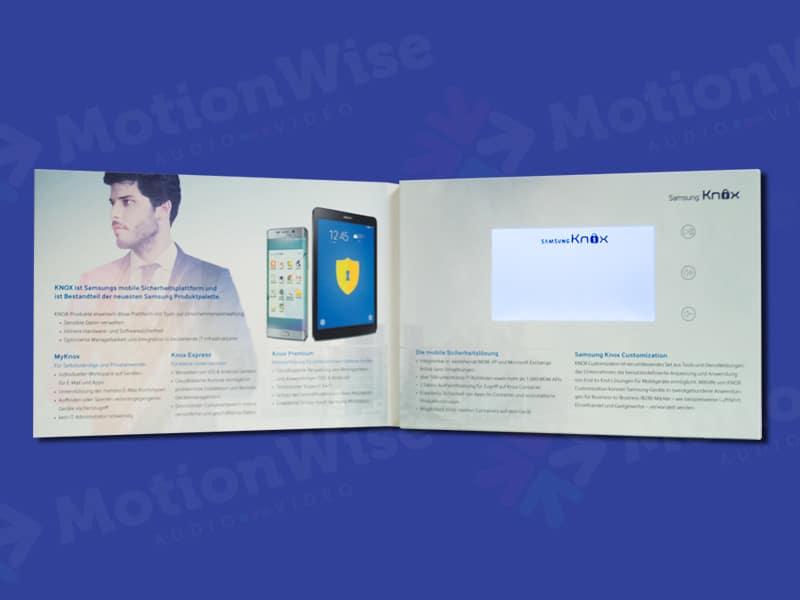 Video brochure Samsung security